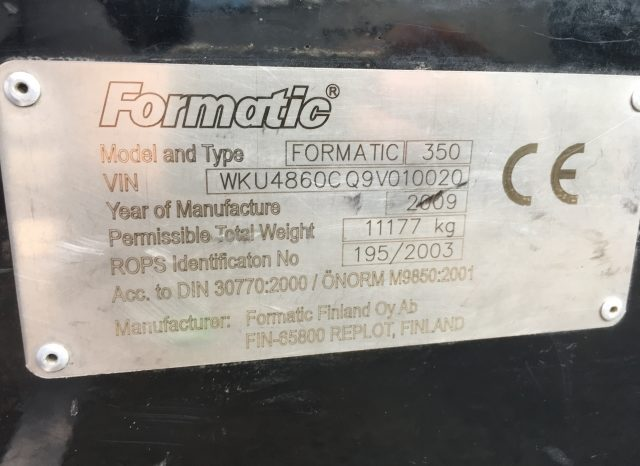 Formatic 350 voll